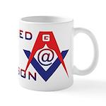 Internet Mason. Wired? Let the world know! Mug
