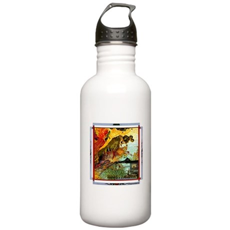 Demonic Illustration Stainless Water Bottle 1.0L