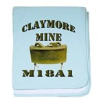 Claymore Mine baby blanket