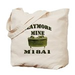 Claymore Mine Tote Bag