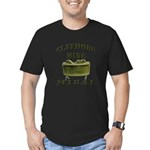 Claymore Mine Men's Fitted T-Shirt (dark)