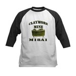 Claymore Mine Kids Baseball Jersey