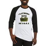 Claymore Mine Baseball Jersey