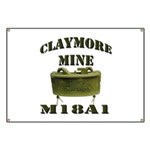 Claymore Mine Banner