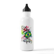 Flower Brazil Water Bottle