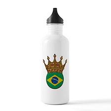 King Of Brazil Water Bottle