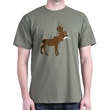 Movember &amp;quot;Moose-stache&amp;quot; T-Shirt