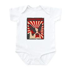 Boston Terrier Revolution Infant Bodysuit