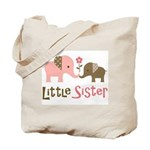Little Sister - Mod Elephant Tote Bag