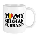 I Love My Belgian Husband Mug
