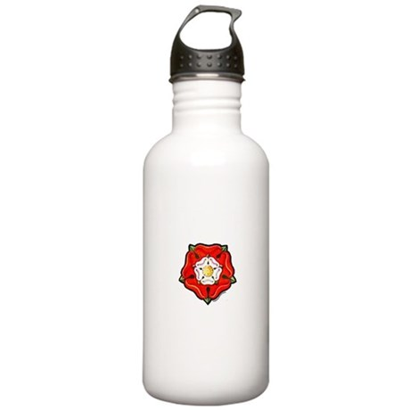 Single Tudor Rose Stainless Water Bottle 1.0L