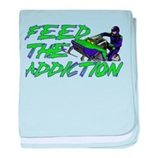 Feed The Addiction baby blanket
