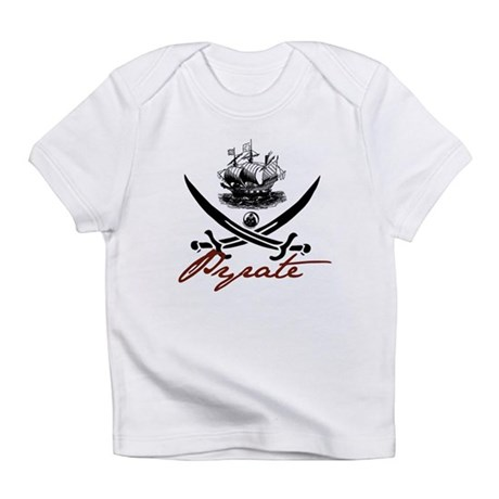 Elizabethan Pyrate Insignia Infant T-Shirt