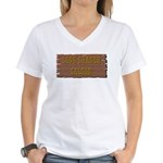 Long Branch Saloon Women's V-Neck T-Shirt