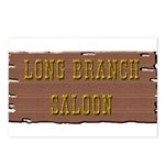 Long Branch Saloon Postcards (Package of 8)