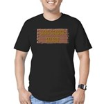 Long Branch Saloon Men's Fitted T-Shirt (dark)