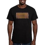 Long Branch Saloon Men's Fitted T-Shirt (dark)