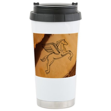 Chasing Pegasus Ceramic Travel Mug