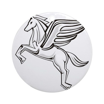 Chasing Pegasus Ornament (Round)