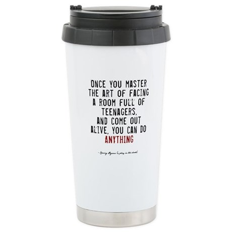 Teacher Quote Ceramic Travel Mug