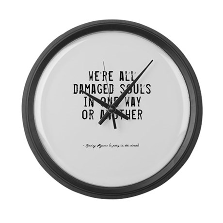 Souls Quote Large Wall Clock