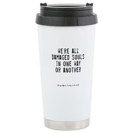 Souls Quote Ceramic Travel Mug