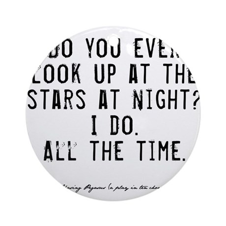 Stars Quote Ornament (Round)