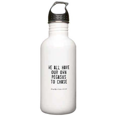 Pegasus Quote Stainless Water Bottle 1.0L