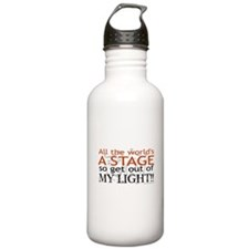 Get Out Of My Light! Water Bottle
