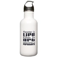 Theater is Life Water Bottle