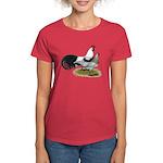 Phoenix Silver Chickens Women's Dark T-Shirt
