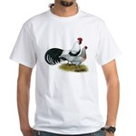 Phoenix Silver Chickens White T-Shirt
