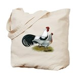 Phoenix Silver Chickens Tote Bag