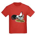 Phoenix Silver Chickens Kids Dark T-Shirt