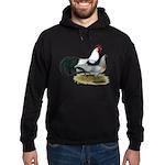 Phoenix Silver Chickens Hoodie (dark)
