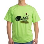 Phoenix Silver Chickens Green T-Shirt