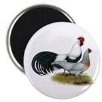 """Phoenix Silver Chickens 2.25"""" Magnet (100 pac"""