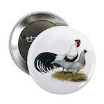 "Phoenix Silver Chickens 2.25"" Button (100 pac"