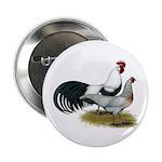 "Phoenix Silver Chickens 2.25"" Button"