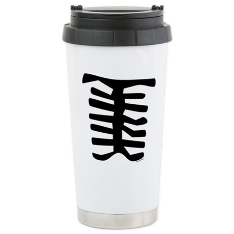 Skeleton Ceramic Travel Mug