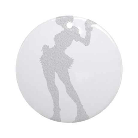 Sexy Nurse Ornament (Round)