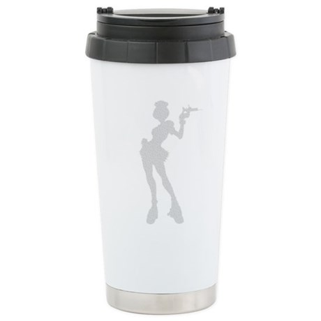 Sexy Nurse Ceramic Travel Mug
