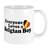 Belgian Boy Mug