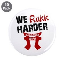 "Rakkasan Wife 3.5"" Button (10 pack)"