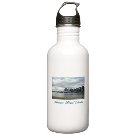 Downtown Vancouver BC Stainless Water Bottle 1.0L