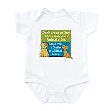 Adopt Shelter Rescue Infant Bodysuit