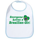 Everyone Loves a Brazilian Girl Bib