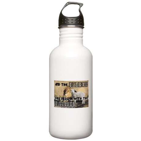Twilight Movie Lion Lamb Stainless Water Bottle 1.
