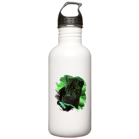 Black Jaguar Stainless Water Bottle 1.0L