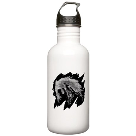 Horse Sketch Stainless Water Bottle 1.0L